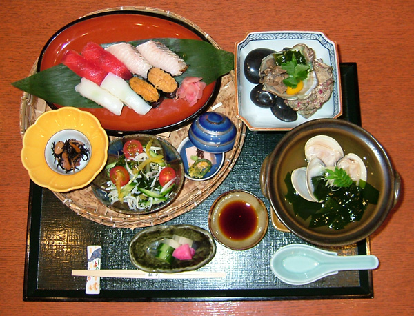 磯の香(寿司御膳)(期間限定)